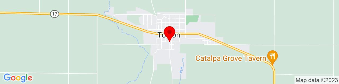 Google Map of 41.0919305, -89.86452