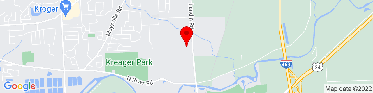 Google Map of 41.0932622, -85.02334599999999