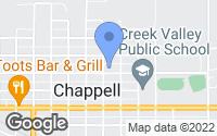 Map of Chappell, NE