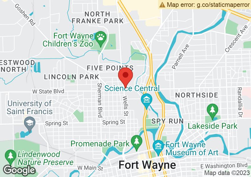 Google Map of 330 W STATE BLVD