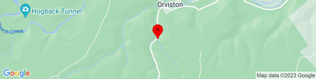 Google Map of 41.09673859999999, -77.7566523