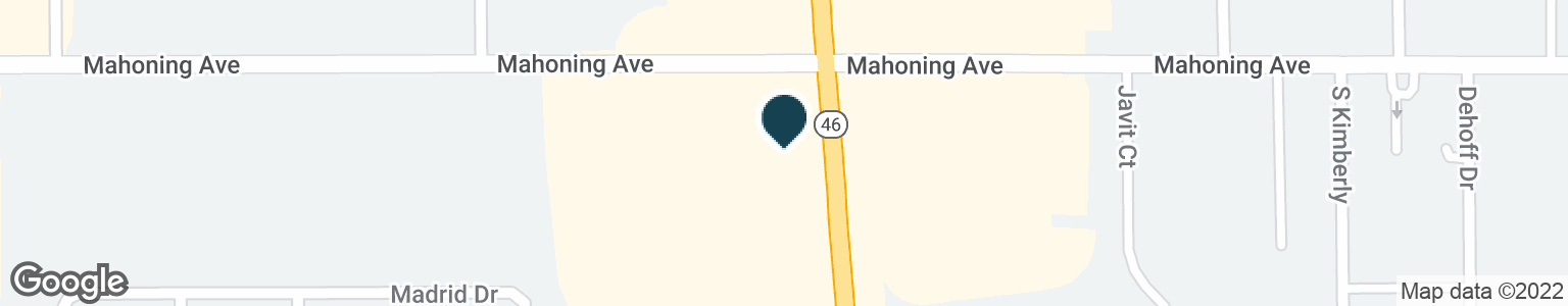 Google Map of5501 MAHONING AVE