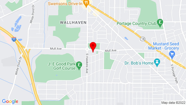Google Map of 500 Mull Ave, Akron, OH 44320