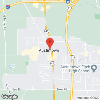 Map of Lawrence Schmetterer III, MD at 20 Ohltown Road, Austintown, OH 44515