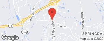 Map of 940 High Ridge Rd in Stamford
