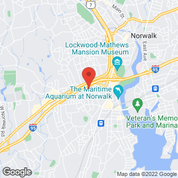 Map of Optimum WiFi Hotspot at 75 Cedar St, Norwalk, CT 06854