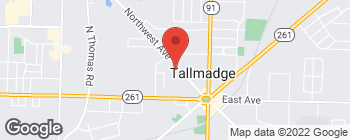 Map of 161 Northwest Ave in Tallmadge