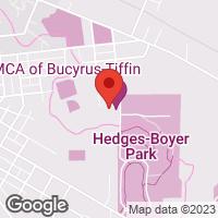 [Tiffin YMCA Map]