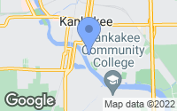 Map of Kankakee, IL