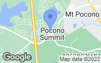 Map of Pocono Summit, PA