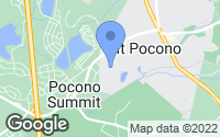 Map of Mount Pocono, PA