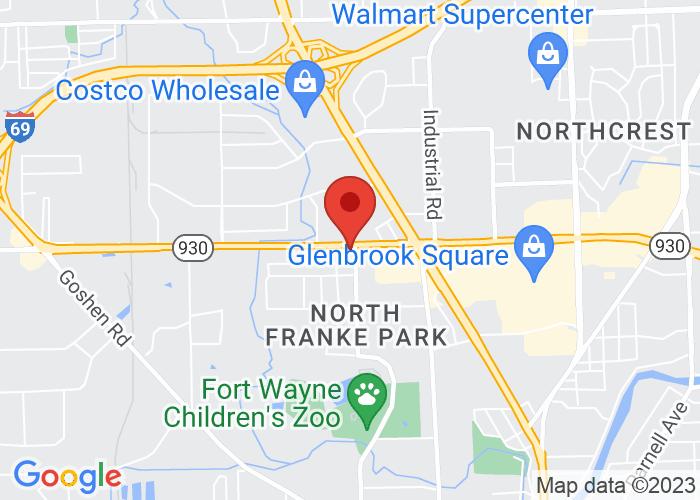 Map of Elmo's - 901 W Coliseum Boulevard