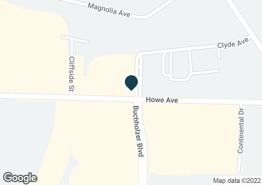 Google Map of755 HOWE AVE