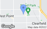 Map of Clearfield, UT