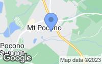Map of Mount Pocono, PA