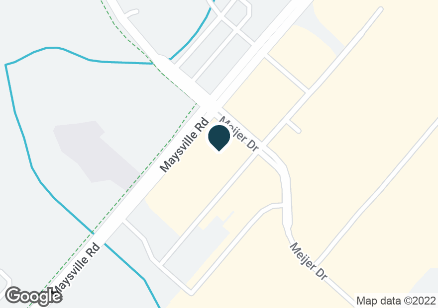 Google Map of10170 MAYSVILLE RD