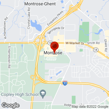 Map of Staples® Print & Marketing Services at 4014 Medina Road, Copley, OH 44333
