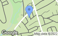 Map of New Canaan, CT