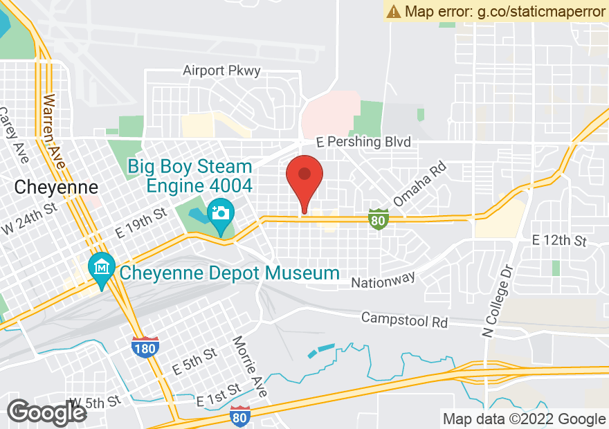 Google Map of 2304 E LINCOLNWAY