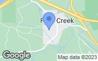 Map of Falls Creek, PA