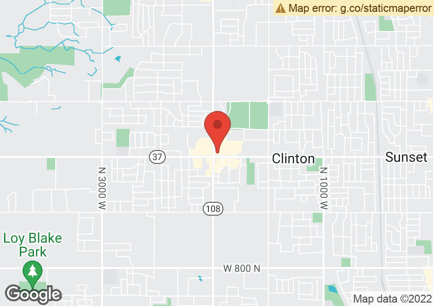 Google Map of 1962 W 1800 N