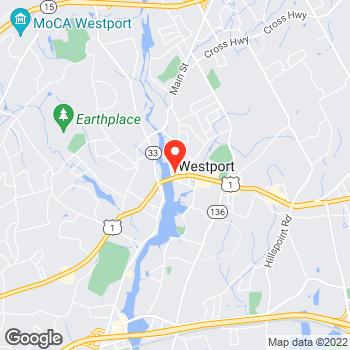 Map of LOFT at 17 Main Street, Westport, CT 06880