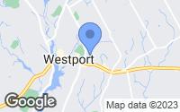 Map of Westport, CT