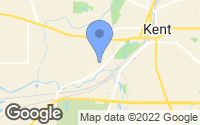 Map of Kent, OH