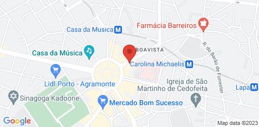 Directions to Capa Verde-restaurante (cedofeita)