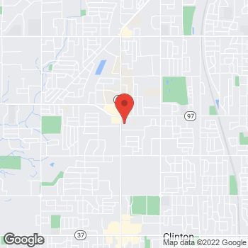Map of Daniel Fronk, MD at 5682 S 3500 E, Roy, UT 84067
