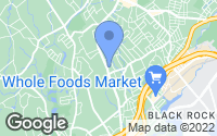Map of Fairfield, CT