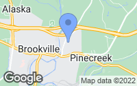 Map of Brookville, PA