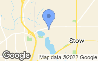 Map of Silver Lake, OH