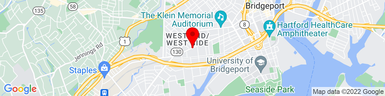 Google Map of 41.1700746, -73.21016089999999