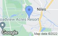 Map of Niles, OH