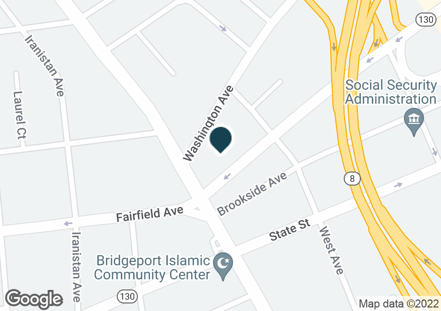 Google Map of1000 PARK AVE