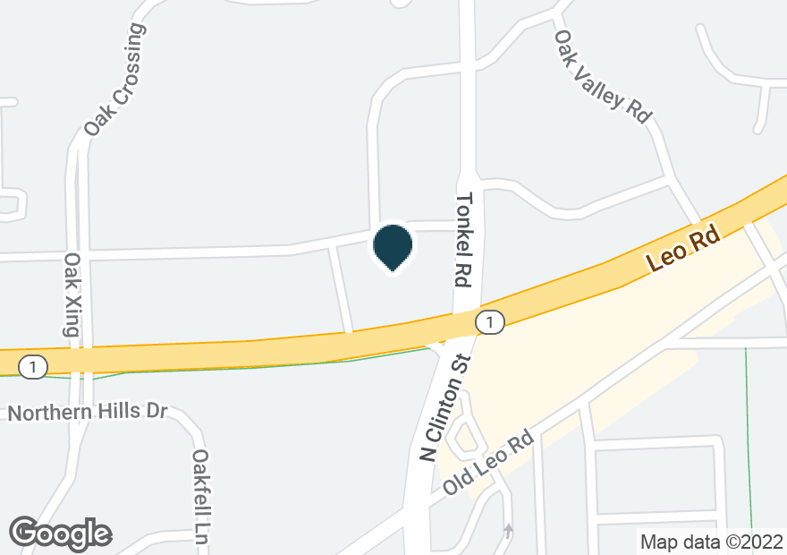 Google Map of5435 E DUPONT RD