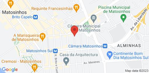 Directions to daTerra Matosinhos