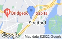 Map of Stratford, CT