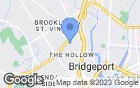 Map of Bridgeport, CT