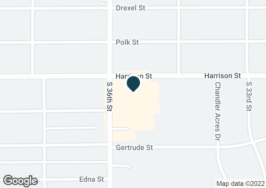 Google Map of6905 S 36TH ST