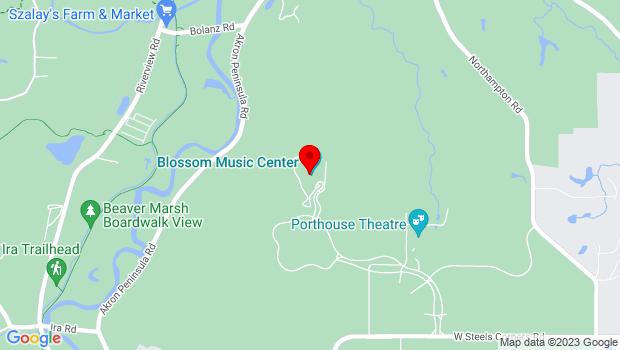 Google Map of 1145 W Steels Corners Rd, Cuyahoga Falls, OH 44223