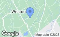 Map of Weston, CT
