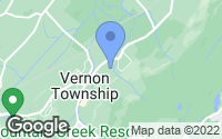 Map of Vernon Township, NJ