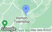 Map of Vernon Township, NJ