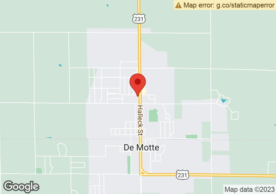 Google Map of 226 N HALLECK ST