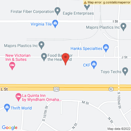 Rueters on Map (10415 J St, Omaha, NE 68127) Map