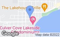 Map of Culver, IN