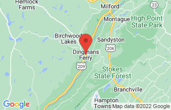 Map of Dingmans Ferry