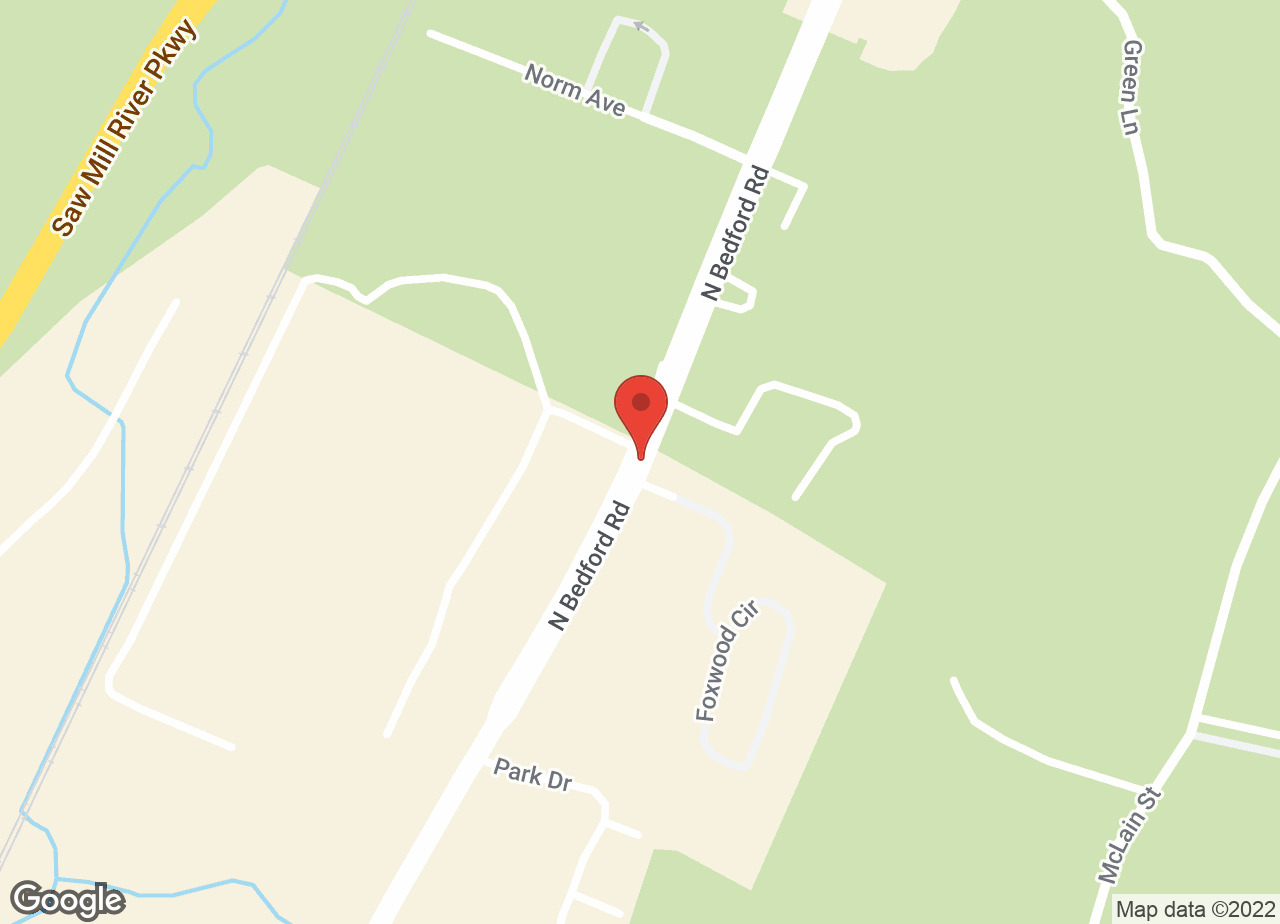 Google Map of Katonah Bedford Veterinary Center